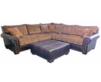 Million Dollar Rustic Living Room